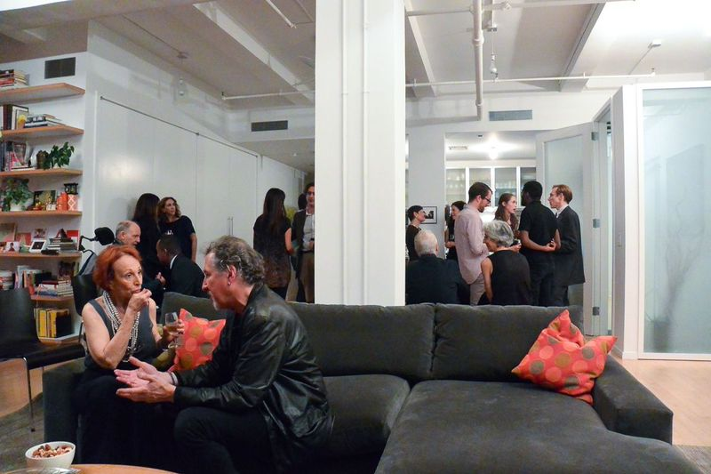 A room full of HLD board members, staff, performers, and supporters.  (photo: Alena Jaffe)