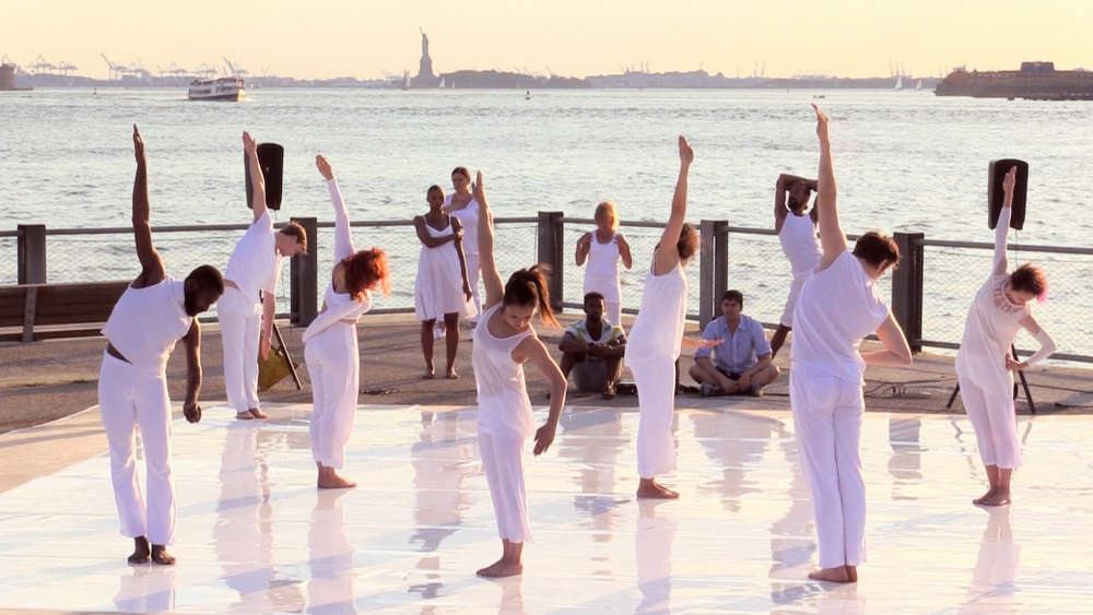 Heidi Latsky Dance in Somewhere at Brooklyn Bridge Park