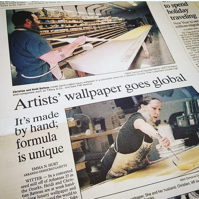 We are very excited to have been featured in Sunday's edition of the  Arkansas Democrat Gazette . Thank you   Emma N. Hurt   for a beautifully written article and to  David Gottschalk  for the wonderful photos of life in the  ASSEMBLAGE  studio.