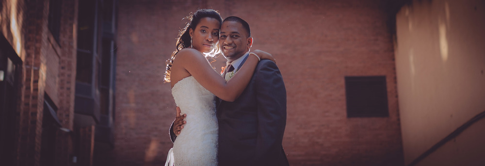 """Dustin took our wedding photos. He did an excellent job of taking classic photos that matched our personalities and the vibe of our wedding. He was great at giving direction and working with our family and friends throughout the day. We received our photos only a few weeks after the date, and we are very happy with them!""  - Bethney Jacob"