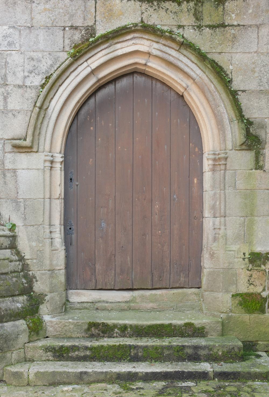 Garden-variety castle door...