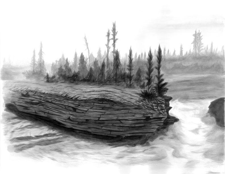 Eroding River