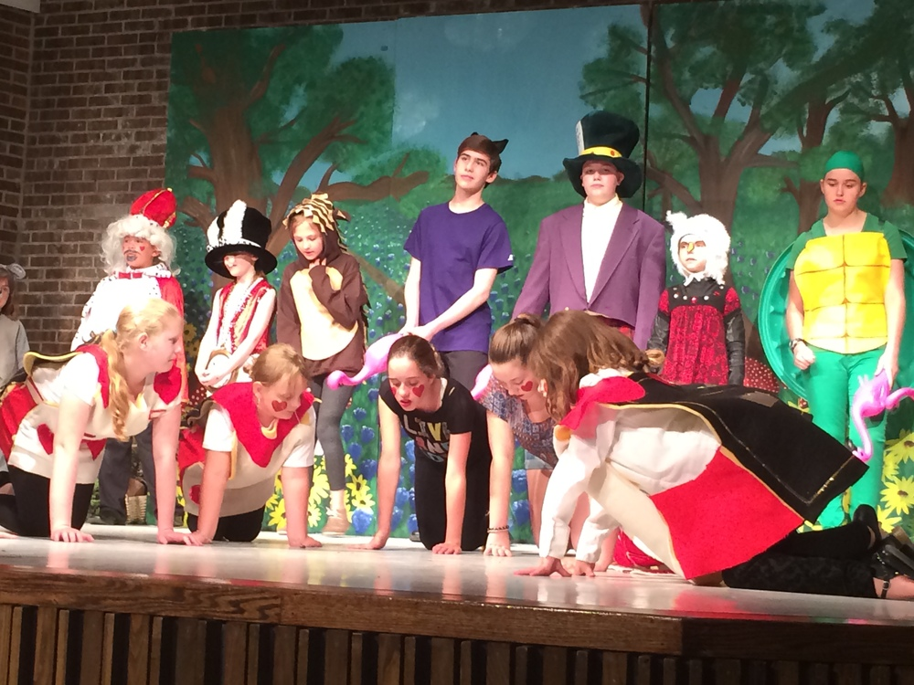 """Alice in Wonderland"" - The Musical"