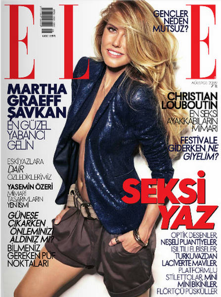 ELLE MAGAZINE, AUG 2011