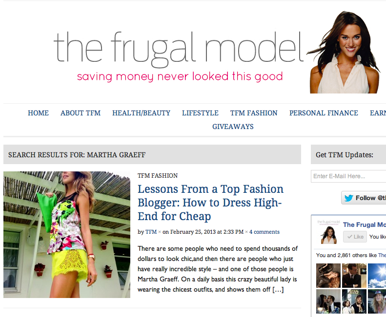 THEFURGALMODEL.COM, MARCH 2013