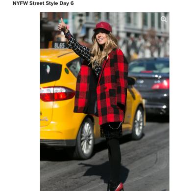 Fabsugar.com, NYFW February 2014