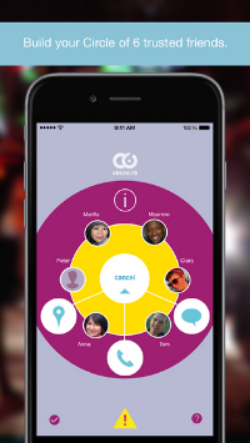 Circle of 6 App Screenshot 1