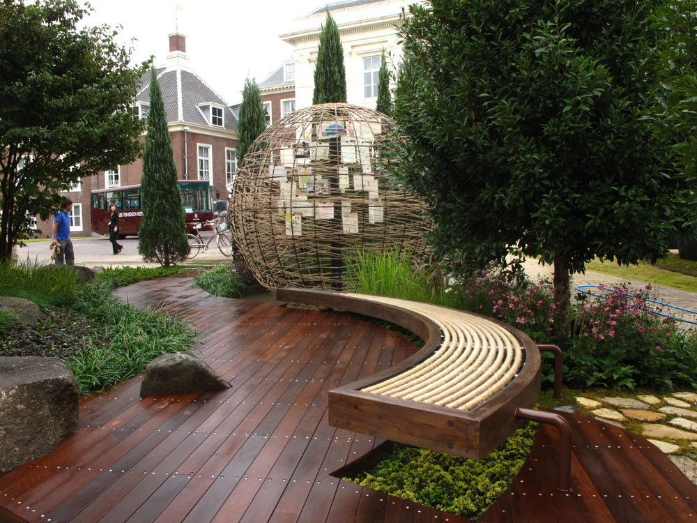 Canadian design firm wins gold medal at the 2010 gardening for School garden designs
