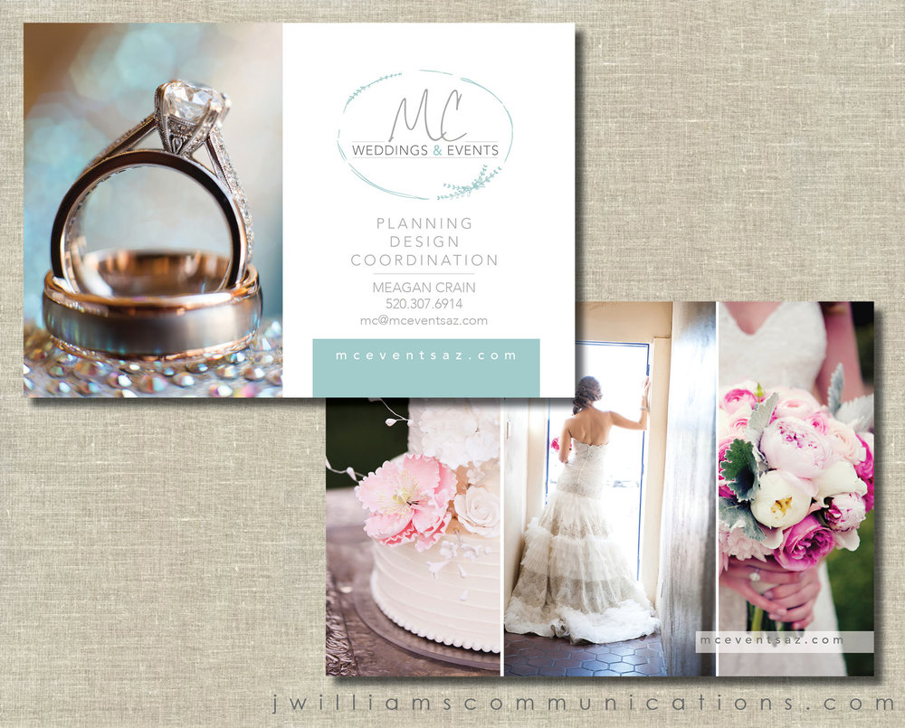 wedding planner 2-sided postcard graphic design.jpg