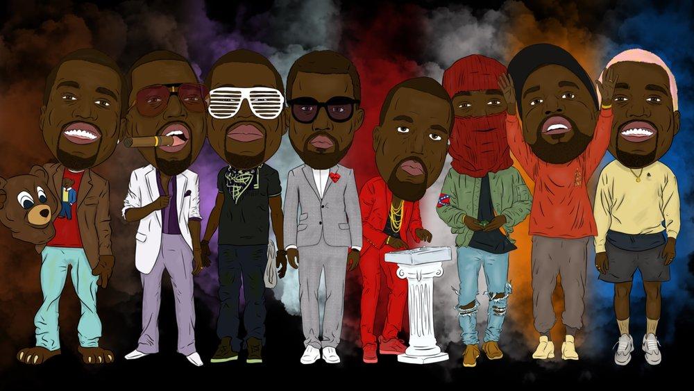 Kanye Evolution