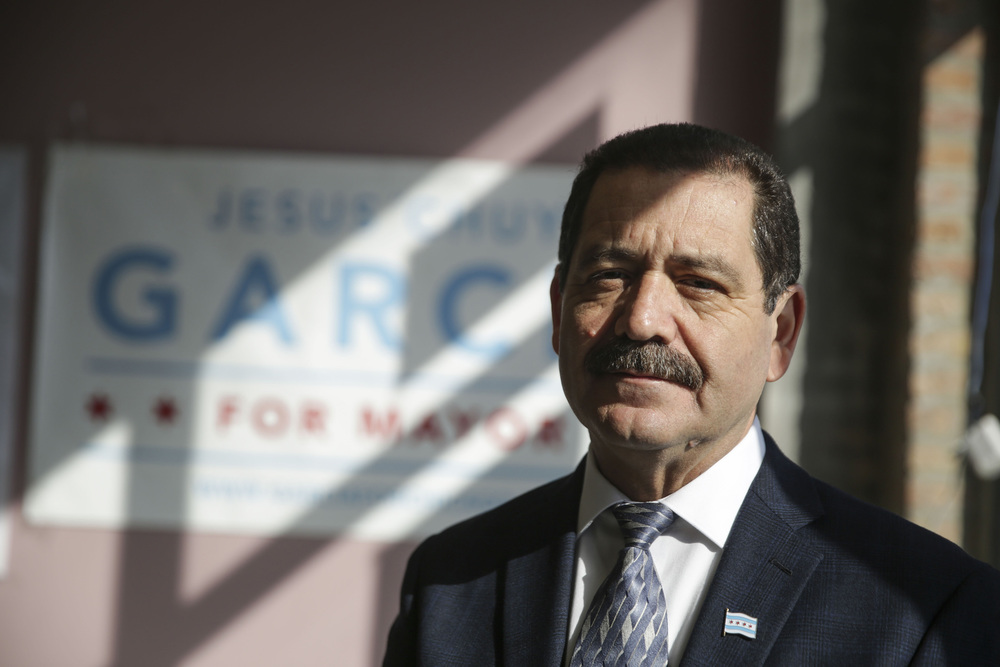 Chicago Mayoral Candidate Jesus 'Chuy' Garcia.