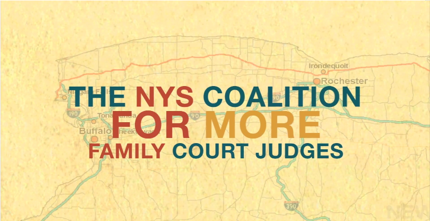"Stream the short film ""  Now Is The Time For More Family Court Judges In NY State"""
