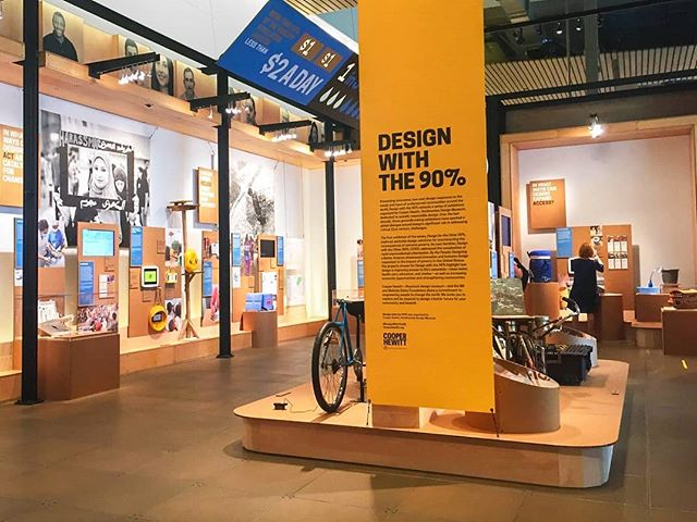 "Go check out the newly opened ""Design With the 90%"" at the Gates Discovery Center. The @studiomatthews team and I have been working on this for the past few months, and we are excited to see the exhibition design come to life!  The exhibit is free to see and open for the next 9-months.  #exhibitdesign #designwiththe90 #seattledesign #seattledesignfestival #cooperhewitt #gatesfoundation #designforgood #design #seattlewa #seattle"