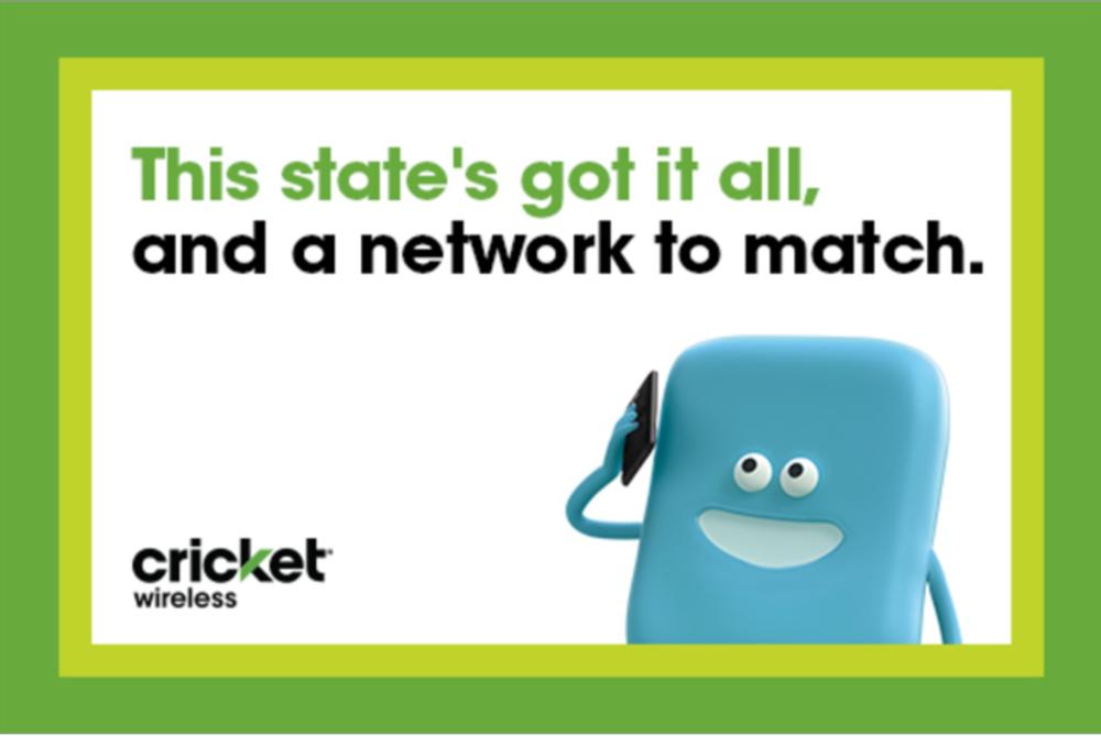 Cricket Wireless    OOH, Digital, Social