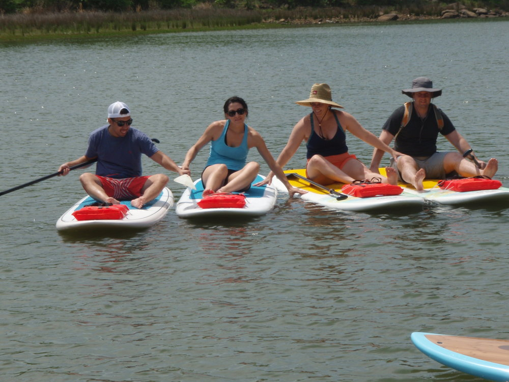 Private SUP Tour, SUP Yoga or SUP Fitness session for you family, friends or business team