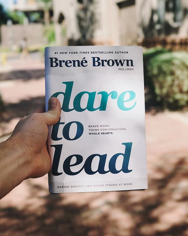 I can't wait to dive into this new gem by @brenebrown! She's always full of wisdom and insights that change me for the better. #DareToLead