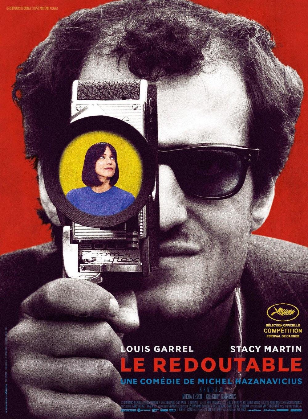 redoubtable film poster michel hazanavicius