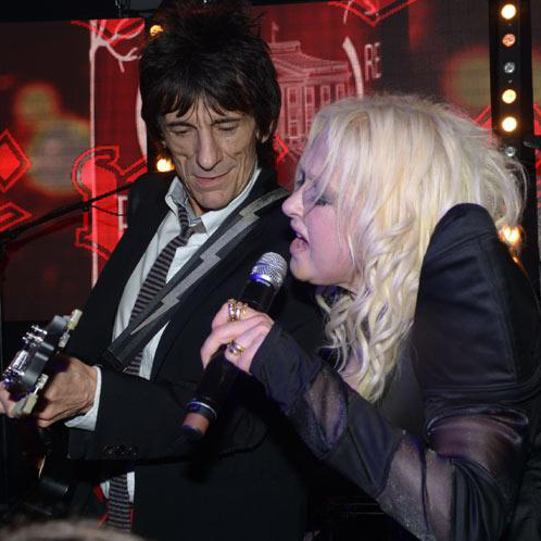 Ronnie Wood gig, Cannes