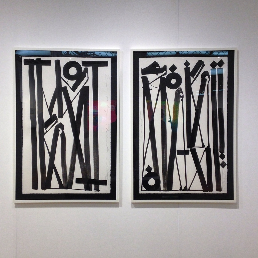 RETNA at Pulse Art Fair, NYC