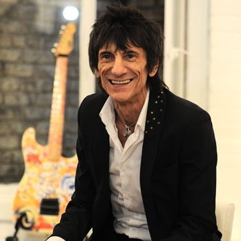 Ronnie Wood art, Cannes