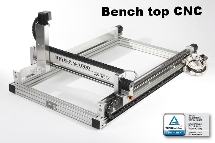 High Z S series Bench top