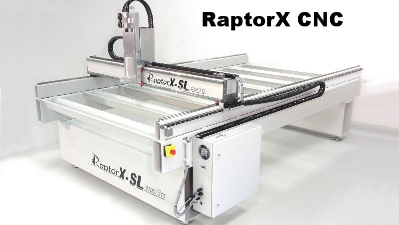 RaptorX SL CNC router