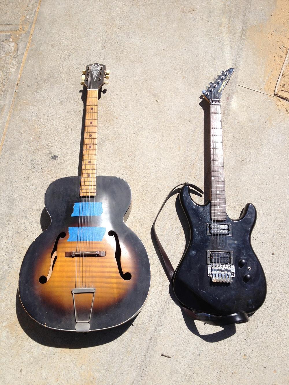 1950s Kay Acoustic Marries 1990s Kramer Electric