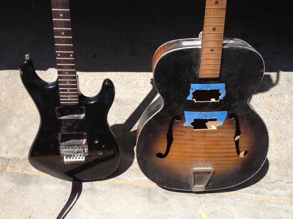 11950s Kay Acoustic Marries 1990s Kramer Electric