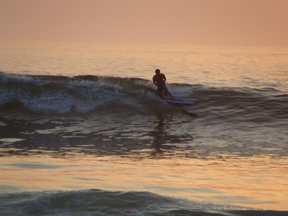 A surf getaway in Puerto, Escondido