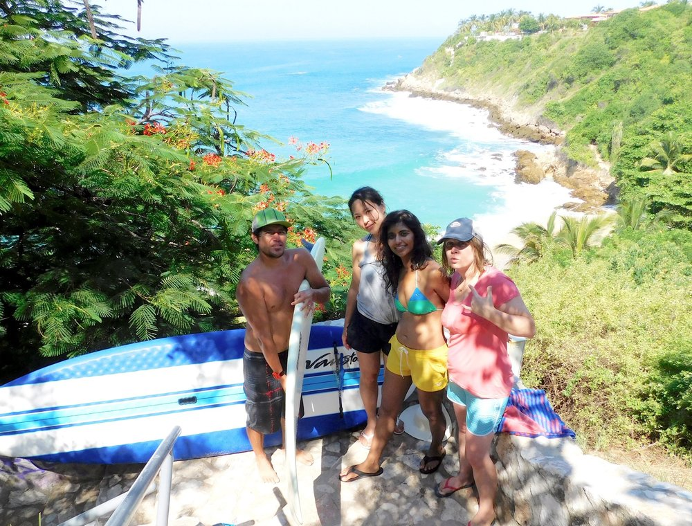 An exclusive surf camp for you and your friends in Puerto Escondido