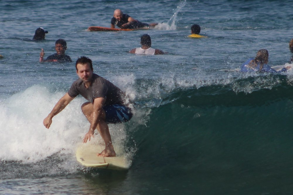 An  exclusive surf camp  in Puerto Escondido Mexico