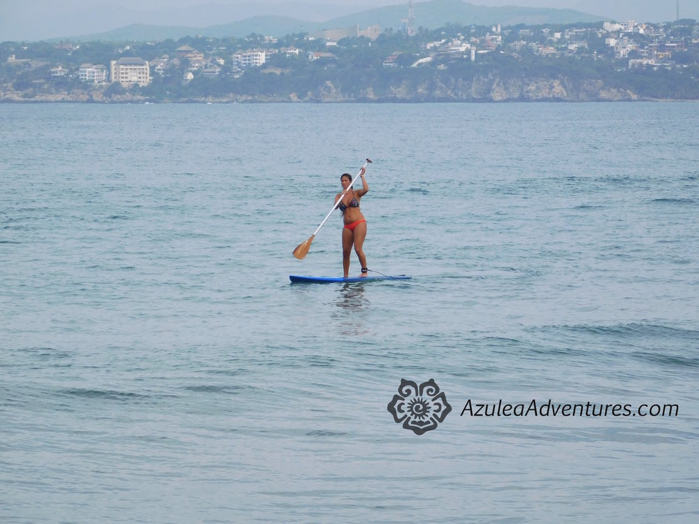 Ocean paddleboarding tour