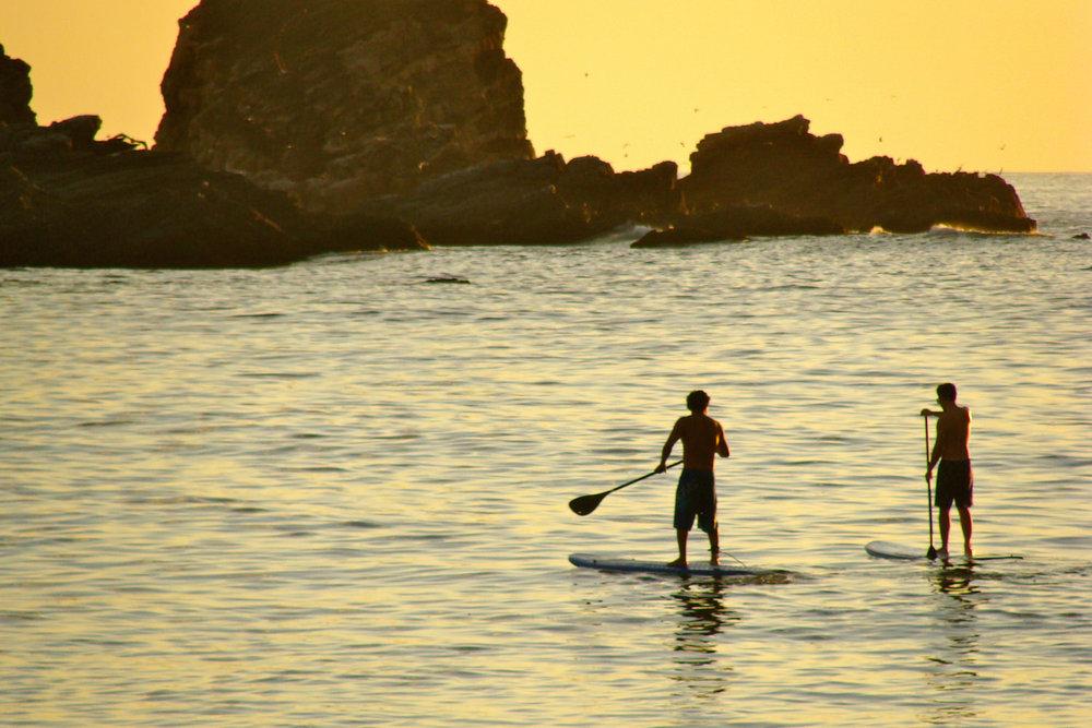 Sunset paddleboarding tour - Puerto Escondido