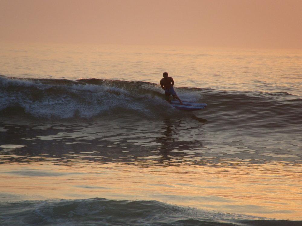 Surf Instructor Carlos Peralta