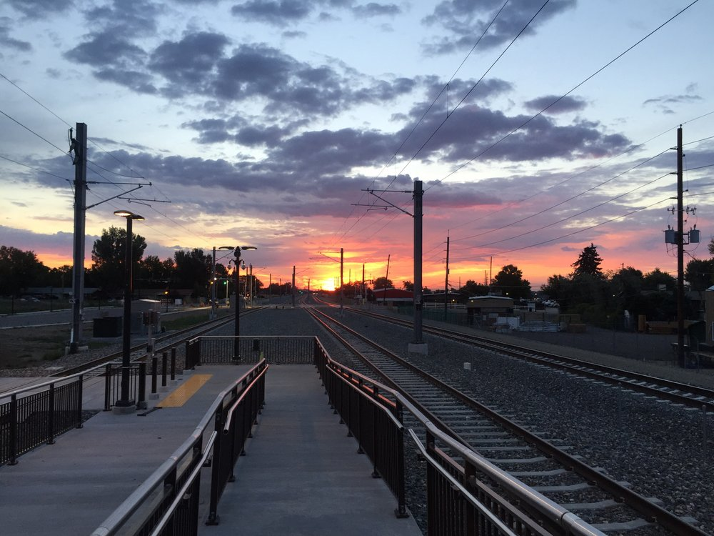Wheat Ridge and Ward station 6:00 am