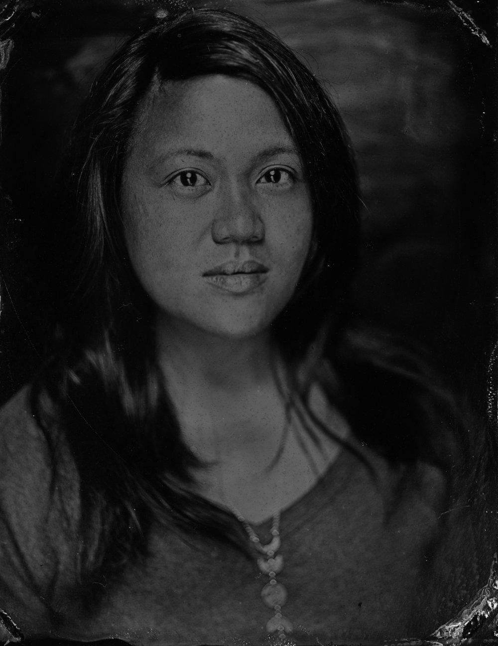 Portrait:Ian Azariah (Tintype Trike)