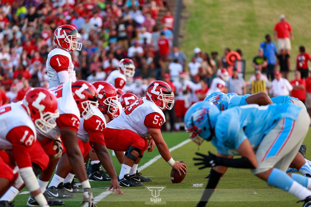 Eisenhower Eagles vs Lawton Wolverines 2013
