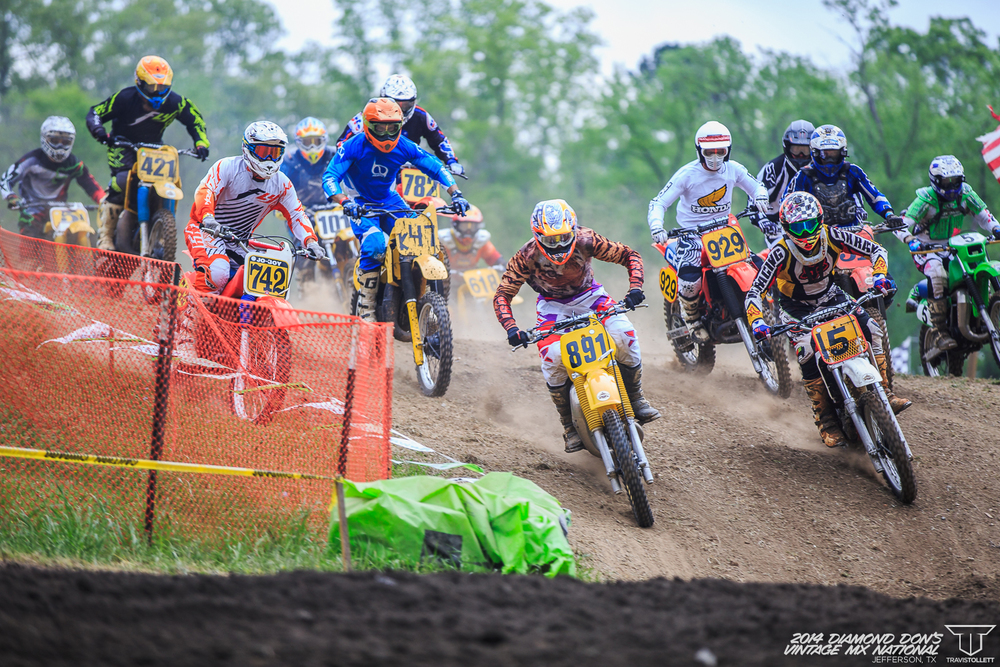 2014 Diamond Don's Riverport Vintage Motocross National
