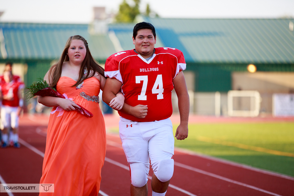 Katlyn Danovsky escorted by Tobey Cable