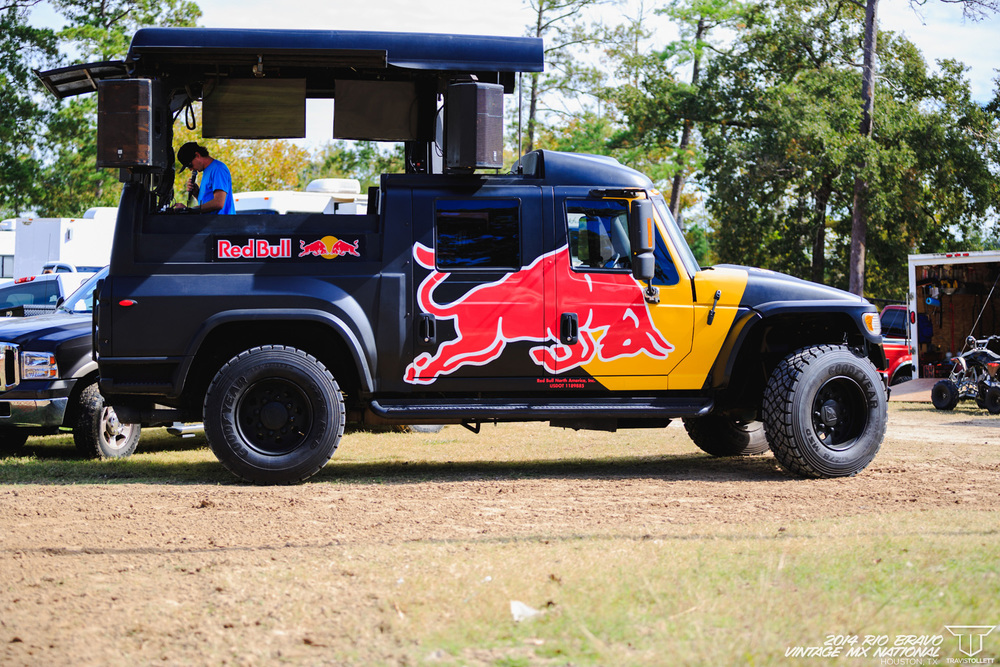 It was good to have Red Bull supporting the race in full force
