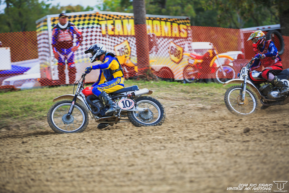 Bill Silverthorn had his starts dialed in the  Vintage 60+ Expert class