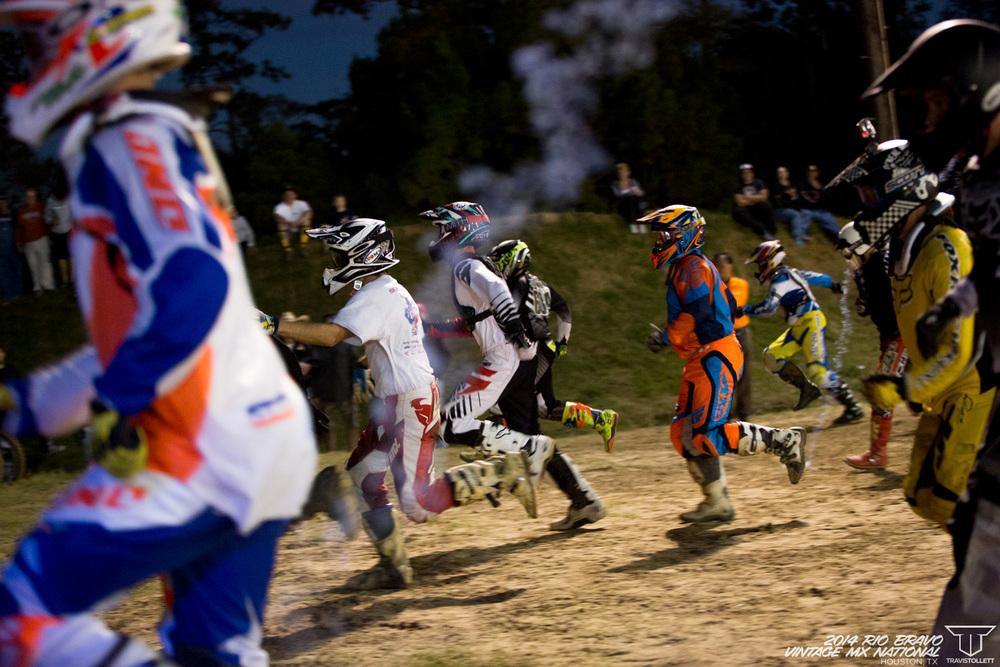 AHRMA Team Race - Rio Bravo Night Track
