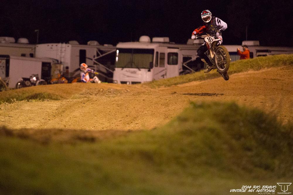 Carlin Dunne  AHRMA Team Race - Rio Bravo Night Track