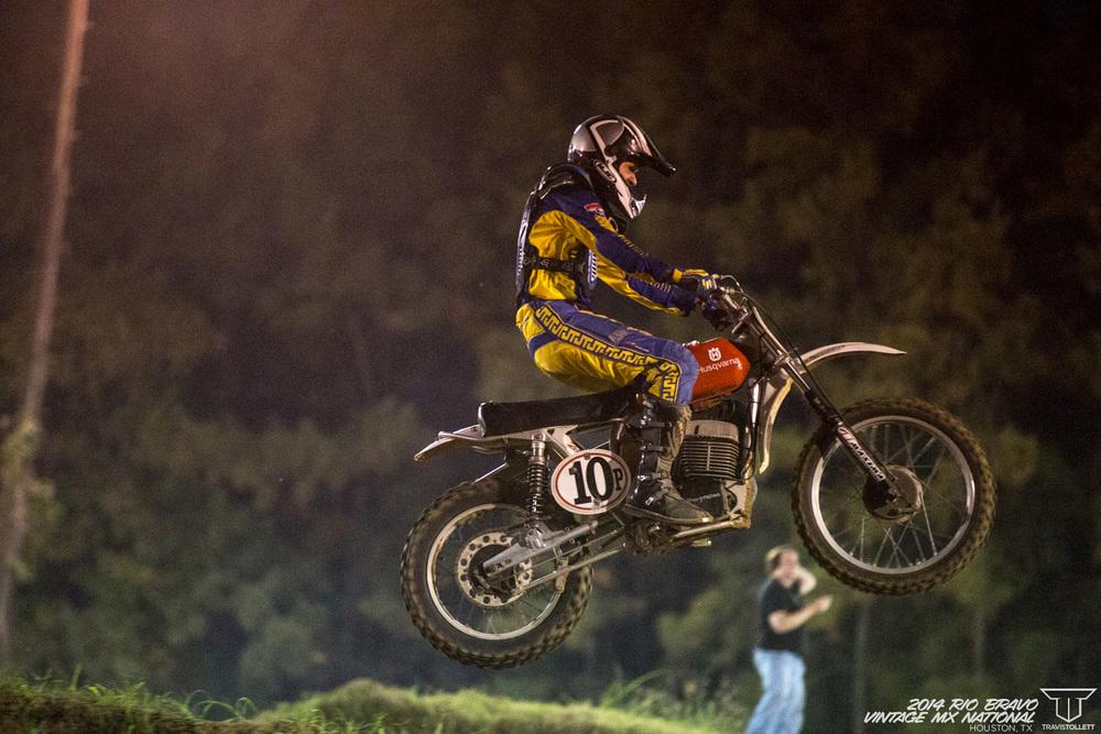 Bill Silverthorn  AHRMA Team Race - Rio Bravo Night Track