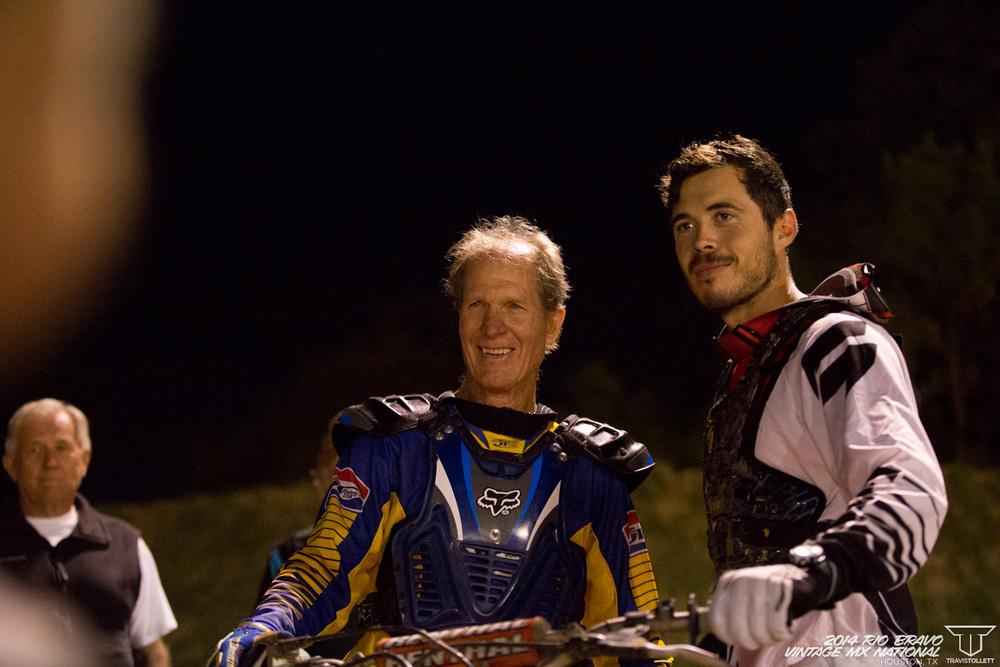 Bill Silverthorn, Carlin Dunn  AHRMA Team Race - Rio Bravo Night Track