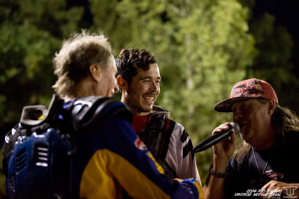 Bill Silverthorn, Carlin Dunn, JP Parsons  AHRMA Team Race - Rio Bravo Night Track