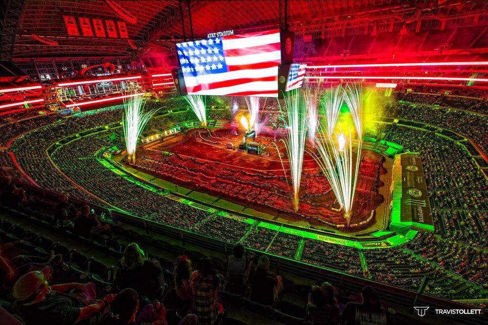 2015 Arlington Supercross Opening Ceremonies