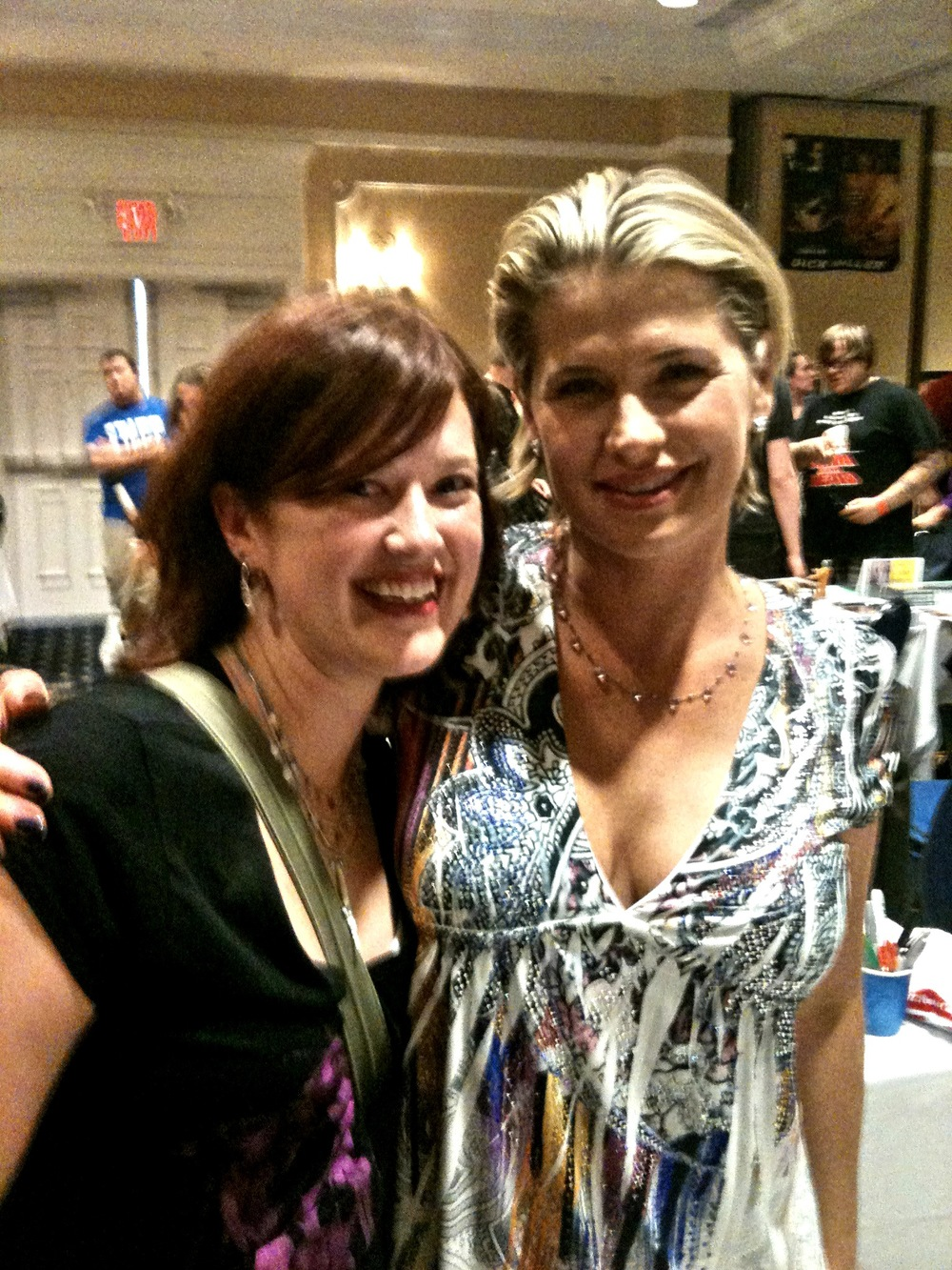 "with Kristy Swanson (""Buffy the Vampire Slayer"")  2011 HorrorFind Film Festival"