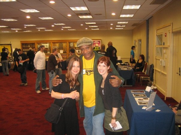 with Tony Todd 2010 HorrorFind Festival