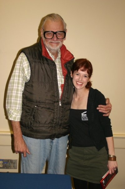 with George A. Romero 2010 HorrorFind Festival